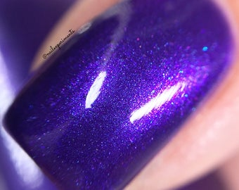 VIOLET UPRISING by CANVAS lacquer - a stunning purple shimmer