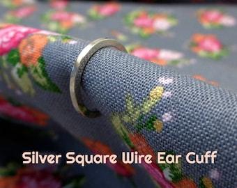 Thin Sterling Silver Ear Cuff