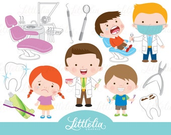 Dentist clipart - tooth clipart - 16100