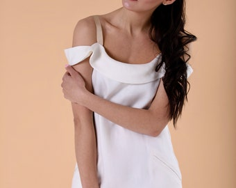 linen dress with straps