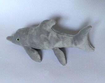 Mini Ichthyosaur Plush / Ichthyosaurus / Sea monster / Dinosaur Plushie