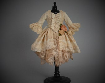 The Blythe Couture Collection: Romantic Rococo Inspired Outfit by Bibarina-  Pure Neemo S/Blythe/Pullip/Takara/Licca/Azone