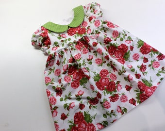 Little girl's dress - for one year old