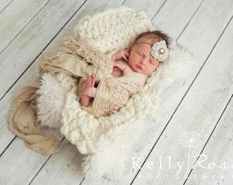 Baby Headbands, Burlap Headbands, Vintage Headbands, Baby Girl Headbands, Newborn Headbands, Photography Props