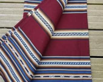 Fair Trade Bolivian Aguayo Blanket / Throw / Fabric