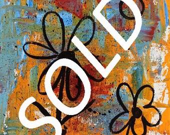 SOLD-----------------Abstract, Modern, Whimsy, Fun, Original Painting, Original Art, Winjimir, Home Decor, Office Art, Wall Art, Gift