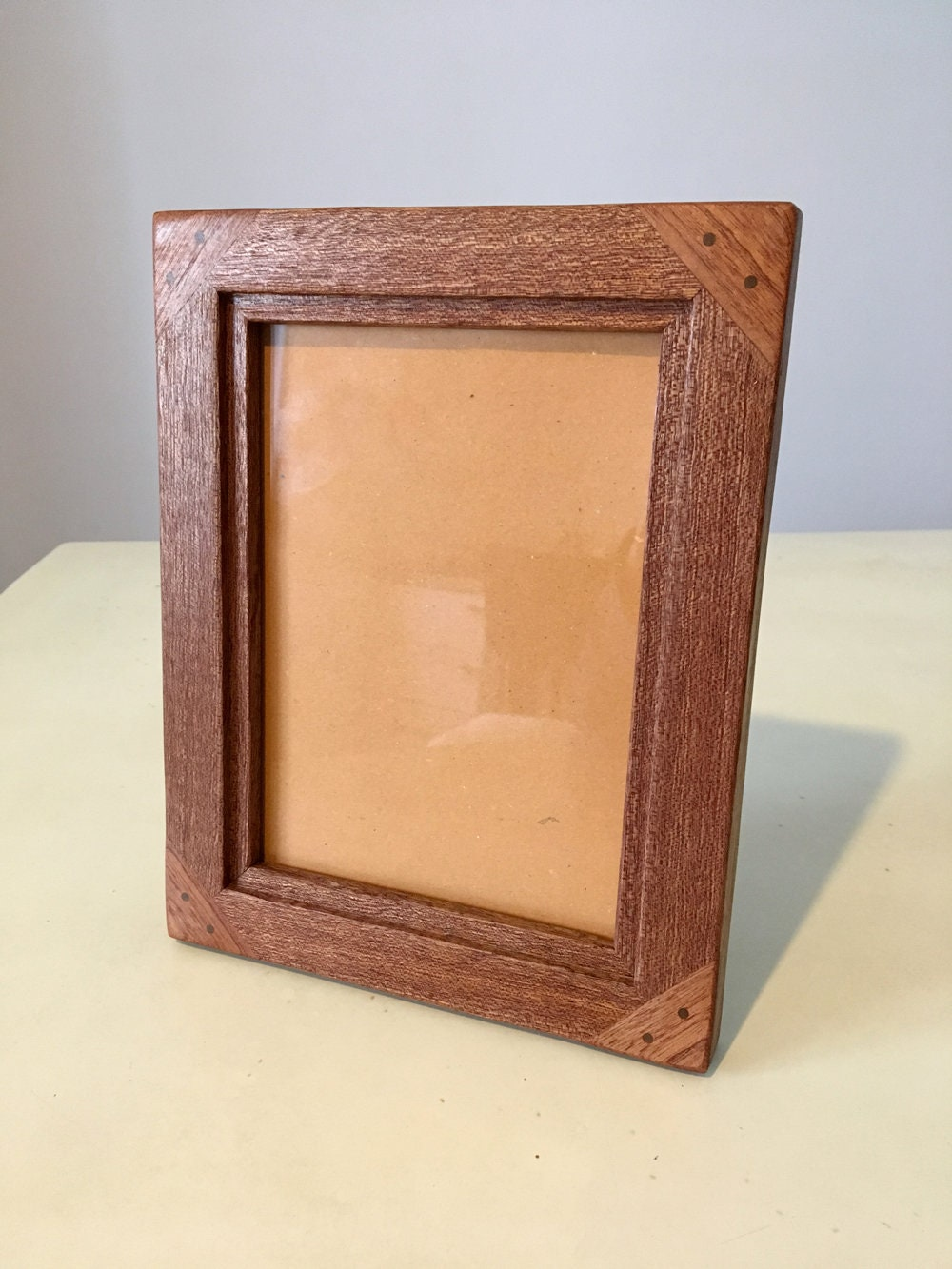 13x18 Wooden Picture Frame Rustic handcrafted mahogany made in Italy ...