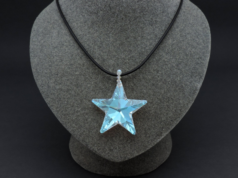 Swarovski crystal star necklace crystal star pendant aurora zoom aloadofball Choice Image