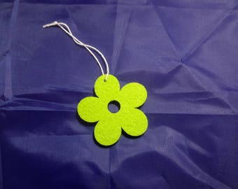 Flower felt to hang for creation and decoration.