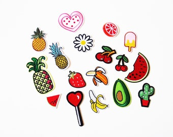 Feeling Fruity Mix Pack of Iron on Patches