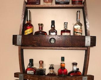 Reclaimed Whiskey Barrel/Wine Barrel cabinet