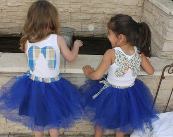 Together skirt tutu with matched undershirt