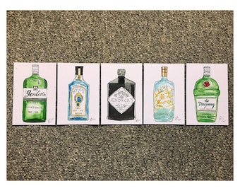 The Gin Collection - Print Set
