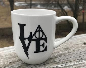 Harry Potter inspired Love Mug