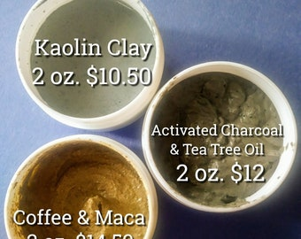 Kaolin Clay Mask and Scrub