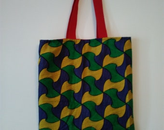 Bag Tote everything tote bag African wax print