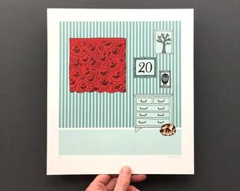Twenty Birds - Original Artwork from Counting Birds