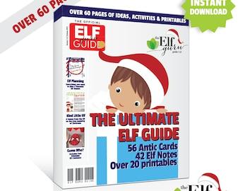Elf on a Shelf Printable, Elf on the Mantle Shelf Elf Printables, Elf Guide, 60+ pages // Printable Kit // INSTANT DOWNLOAD // C-U04 ZZ6
