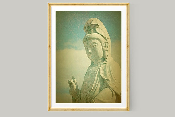 Buddha Wall Art Buddha Print Buddhist Art Large Wall Art
