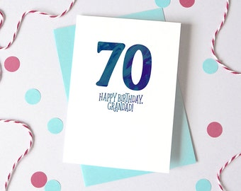 Age Birthday Card – Personalised Birthday Card – Birthday card for daughter - Birthday card for son - birthday card for friend - special age