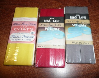 J & P Coats, Wrights Wide Bias Tapes