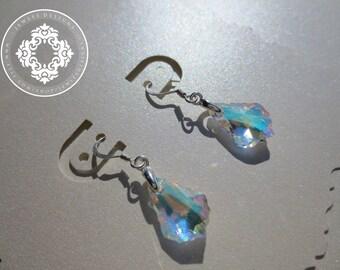 Swarovski Crystal Heart Earrings women, Dangle earrings, Swarovski Crystal earrings, Accessories, women's earrings