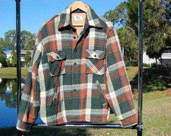 Vintage Heavy Flannel Wool Jacket