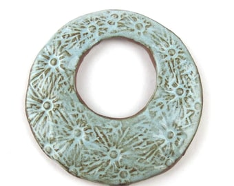 Handmade Ceramic Donut #1 by Elaine Ray, 1 pc