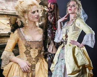 Pirates of the Caribbean Giselle cosplay
