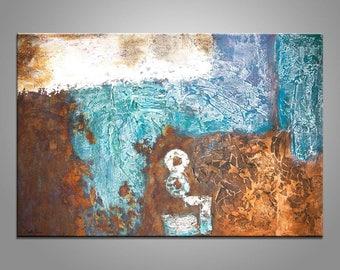 Abstrakte Malerei Leinwand Kunst Graffiti-Wand-Dekor