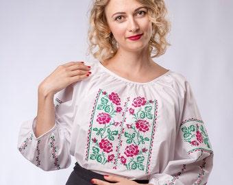 Vyshyvanka, ukrainian embroidered blouse, ukrainian clothing, ukrainian vyshyvanka, embroidery, ethno, ukrainian clothing