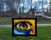 ABSTRACT EYE SUNCATCHER~a...