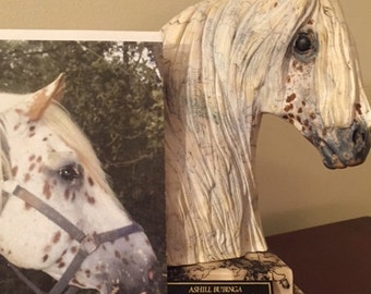 HORSE HAIR POTTERY- Pet personalized-custom painted to look like your horse