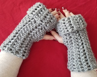 CROCHET PATTERN - Northwood Fingerless Gloves | Fingerless Mittens
