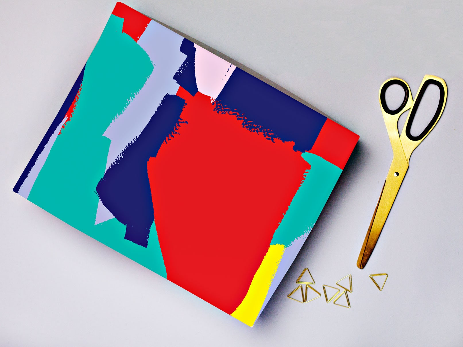 Description Gorgeous Vibrant Wrapping Paper