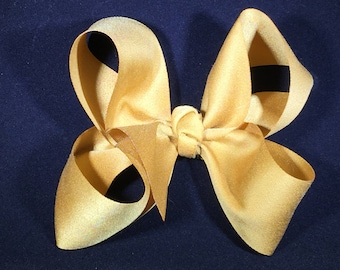 Muted Gold Boutique Bow