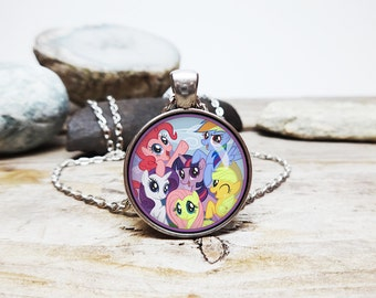 80s my little pony etsy my little pony necklace little pony jewelry my little pony fan gift bronie fans bronie gift bronie necklace 80s cartoon necklace 80s memory aloadofball Gallery
