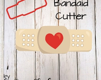 Bandaid Cookie Cutter