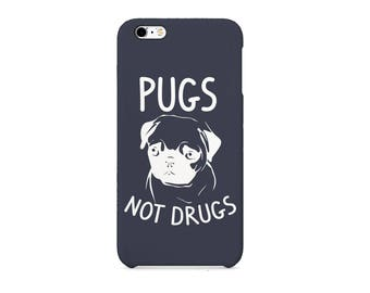 Pugs Not Drugs 3D full-print Phone case for / iPhone / Huawei /Samsung Galaxy