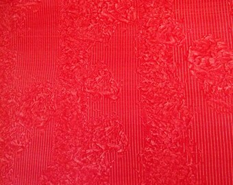 Paste Paper Sheet - Bright Red