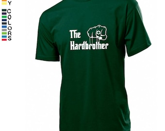 The Hardbrother men t shirt/ The Godfather inspiration/ Present for best brother/ Brother's birthday gift