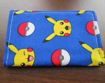 Pokemon Wallet, Nintendo, Minimalist Wallet, Business Card Holder, Travel Wallet, Pikachu, Pokemon Go, Credit Card Wallet, Pokeballs