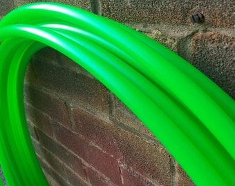 "5/8"" Uv Green Polypro Hula Hoop"