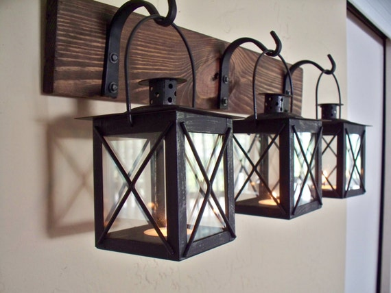 Items Similar To Sale Black Lantern Trio Wall Decor. Wall