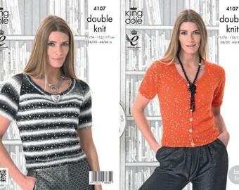 Cardigan & Sweater Knitting Pattern