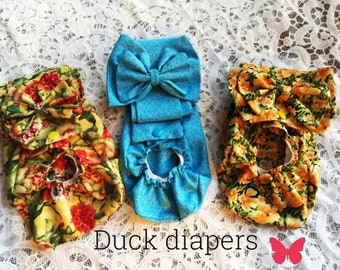 Duck Diapers made to order