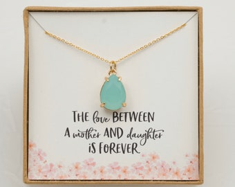 Mother Necklace / Mom Necklace / Mom Gift / Mother's Day Gift / Mother's Day Necklace / Mother Daughter Gift / Mother Daughter Necklace