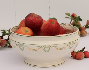 French vintage Longwy 'Georges' bowl