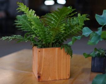 Wooden Planter || Succulent Planter || House Plant Holder || Rustic Planter