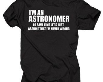 Astronomer T-shirt Tee Shirt Shirt Astronomer Tee Shirt